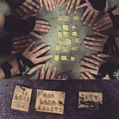 We are on each others team.  #regram from @domino455 -  #helsinkirollerderby #bunkkerinfemma by helsinkirollerderby