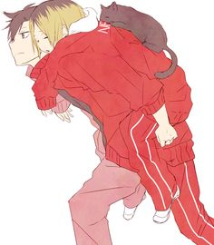 Kenma and Kuroo ~ Haikyuu!!