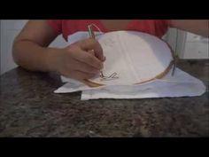 Aprenda a fazer tapeçaria com agulha mágica - YouTube