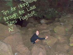 Hiking Through the Lava Tubes in Flagstaff, AZ