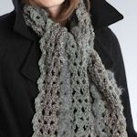 30 free crochet scarf patterns - I will check these out for prayer shawl ideas - double with width and it could work!