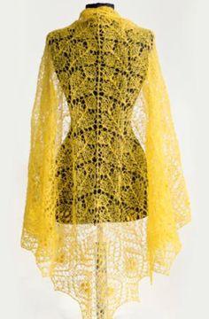 Ажурная шаль – модный аксессуар в гардеробе, помогающий создать индивидуальный образ его обладательнице. Шаль можно носить с повседневными вещами или
