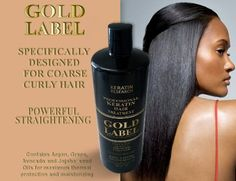 Professional Keratin Blowout Treatment Specifically Designed for Coarse Curly Black, african, Dominican and Brazilian Hair types Super Enhanced Formula 240ml