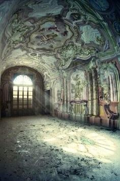 October journeys 35 Photographs of Abandoned Places: Where Eerie and Beautiful Overlap by proteamundi