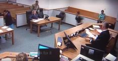 Lewis County District Court Judge R. Buzzard chased after two inmates who took off running from his courtroom. News Stories, Furniture, Home Decor, Dress, Decoration Home, Room Decor, Home Furnishings, Home Interior Design, Home Decoration