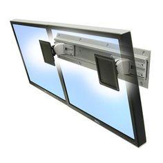 Ergotron Neo-Flex® Dual Monitor Wall Mount