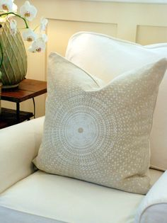 schumacher sundial pillow