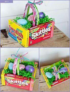 Edible easter basket!!