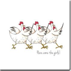 Here come the Girl Chicks!