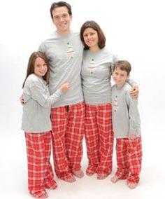 Silver Snowfall Tree Grey Shirt Pant Set - Adult Large, L/S, RB Plaid Pants