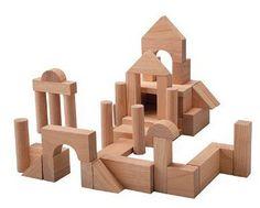 Black Friday PlanToys Plan Preschool 50 Unit Blocks from Plan Toys Preschool Toys, Toddler Preschool, Toddler Toys, Baby Toys, Magda Gerber, Stacking Blocks, Plan Toys, Thing 1, Baby Blocks