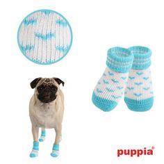 Angel Heart Dog Socks