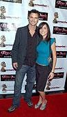 """At the premier for my film """"Fallen Angels"""" at the Mann's Chinese Theater with Michael Kailski."""
