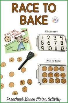 Hands-On & FUN Activities for If You Give a Mouse a Cookie for Preschool