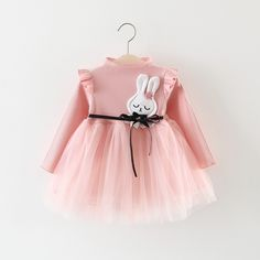 Check out my new Charming Appliqued Rabbit Tulle Belted Dress for Baby Girl, snagged at a crazy discounted price with the PatPat app. Fashion Kids, Little Girl Dresses, Girls Dresses, Baby Girl Winter, Spring Girl, Kids Outfits, Dress Outfits, Baby Outfits Newborn, Baby Dress