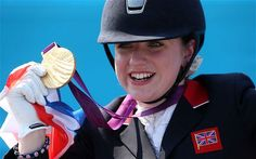 Natasha Baker wins second dressage gold medal with record score on Cabral  It is now sporting legend that, as a 10 year-old watching the Sydney Games, Natasha Baker turned to her mother and said she would one day ride at the Paralympics and win a gold medal.