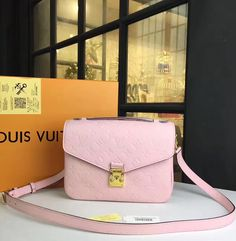 Louis Vuitton Monogram Empreinte Pochette Metis looks small, but due to careful designing and additional pockets, you actually get all the space you need. All metal elements are colored in gold color, so they look perfectly and suit to the LV logo.  See more Louis Vuitton handbags at http://www.luxtime.su/louis-vuitton-handbags
