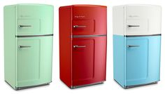 Keep it cool!  Big Chill, a company dedicated to creating retro modern appliances