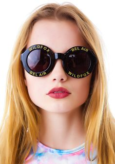 BACK IN STOCK!! #Wildfox Couture Bel Air Sunglasses | Dolls Kill