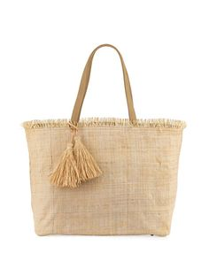 Whole Heart Happy, tote bag, straw bag