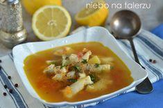 Dobra, zdrowa zupa rybna, do przygotowania w pół godziny. Nada się na codzienny obiad, jest świetna następnego dnia po karnawałowej nocy albo na Thai Red Curry, Ethnic Recipes, Food, Bending, Meal, Essen, Hoods, Meals, Eten