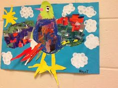 it's an HSES Arty Party!: Kindergarten Birdies