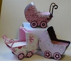 baby carriage tutorial