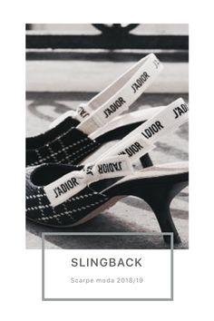 Scarpe moda autunno: Slingback Dior, Kitten Heels, Shoes, Fashion, Moda, Zapatos, Dior Couture, Shoes Outlet, Fashion Styles
