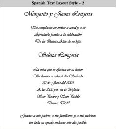 41 Best Spanish Wedding Invitations Images On Pinterest Spanish