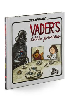 Oh my gosh!! My daughter used to have tea parties singing the starwars theme song LOL I need this book  Vader <3