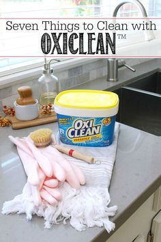 Oxiclean works on mo