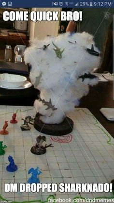 Is Sharknado in the Monster Manual?