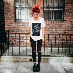 Wild style, without rules lml rocker life lml ropa grunge, r Grunge Outfits, Punk Outfits, Fashion Outfits, Fashion Clothes, Fashion Boots, Grunge Look, Grunge Style, 90s Grunge, Le Happy