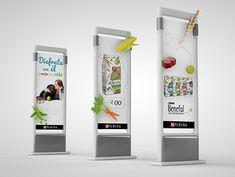 Diseño de campaña Shopper Marketing para Beneful con diseño de exhibidores y muebles en punto de venta Cardboard Display, Web Design, Logo Design, Displays, Pop Display, Point Of Sale, Digital Marketing, Behance, Phone