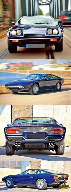 Maserati Khamsin - Etwa 430 Khamsin rollten von 1974 bis 1984 vom Band, danach war Schluss. Rund 300 Stück existieren davon heute noch.