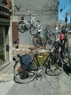 """See 12 photos from 125 visitors about bike tour, pashleys, and ice cream. """"Awesome bike tour and guide. Delicious pizza lunch at Atwater market. Atwater Market, Places To Rent, Free Maps, Bike Path, Montreal, Coffee Shop, Wander, Paths, Pump"""