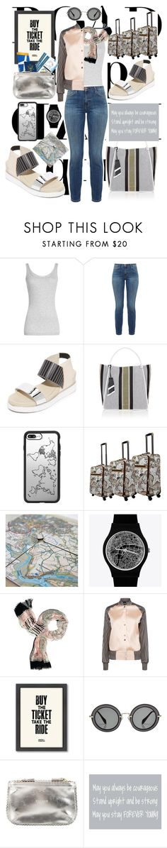 """Rev it Up: Road Trip Style"" by michele-nyc ❤ liked on Polyvore featuring Vince, Current/Elliott, UN United Nude, Proenza Schouler, Casetify, May28th, Kate Spade, Americanflat, Miu Miu and Anya Hindmarch"