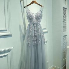 Embellished Tulle Prom Dress                      – The Dress Rail Boutique