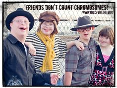 IDSC for Life: Friends don't count chromosomes!