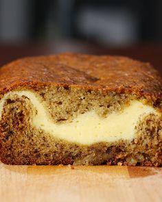 Cheesecake-Filled Banana Bread | Cheesecake-Filled Banana Bread