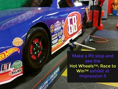 Make a pit stop to see the Hot Wheels™: Race to Win™ traveling exhibit at Impression 5 Museum in Lansing MI