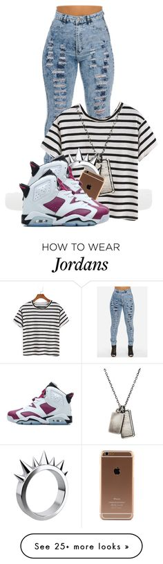 """Just bein honest!! .-."" by pinkswagg15 on Polyvore featuring мода, Werkstatt:München, LUSASUL и NIKE"