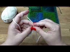 Modulové pletení čtverce 1. - škola pletení - YouTube Knitting Squares, Double Knitting, Knit Crochet, Youtube, Free, Crocheting, Anna, Relax, Women