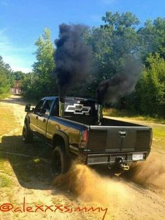 Chevy with stacks