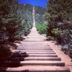Mt. Manitou Incline Base in Manitou Springs, CO