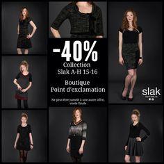 Dernière chance -40% sur la collection SLAK