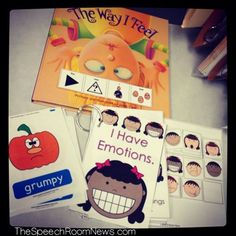 As part of our 'All About Me' curriculum we've been spending a lot of time learning about emotions. I thought I'd share some resources today that have been hanging out in my rolling cart! The Way I...