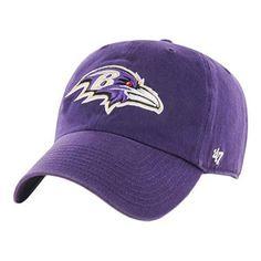 a00dac4db16  47 Brand Baltimore Ravens Clean Up Adjustable Hat (Purple)