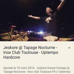 On instagram by jeskore #gabber #gabbermadness (o) https://www.instagram.com/p/BDLMQgasphq/https://youtu.be/NjJQ4Kt4RcM My liveset footage is on youtube !  #jeskore #dj #producer #hardcore #uptempo #techno #pioneer #sennheiser #funktionone #inox #club #toulouse #france #throwback #gopro #video #footage #factory243 #cdj2000nexus  #gabba #frenchcore #performance #live #mix #djset