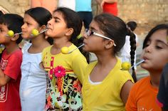 Our childhood games lemon and spoon race. Kids enjoying at their best to race on happy streets. #HappyStreetsHyderabad #HappyStreetsHyderabad